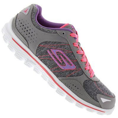 Tênis Skechers GO Walk 2 Flash Gym - Feminino