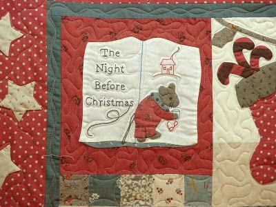 75 best The night before christmas images on Pinterest | Christmas ... : twas the night before christmas quilt - Adamdwight.com