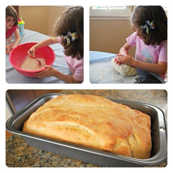 Como hacer pan facil