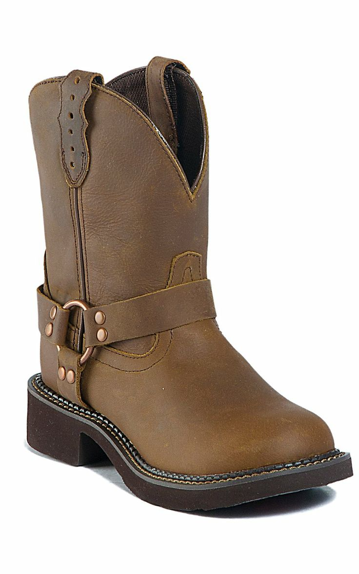 Justin® Gypsy™ Ladies Bay Apache Harness Round Toe Western Boots | Cavender's Boot City