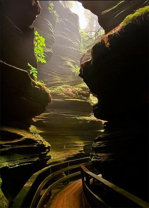 "Witches Gulch, Wisconsin Dells, ""Been here, Absolutely Breathtaking!"" USA, via pinterest"