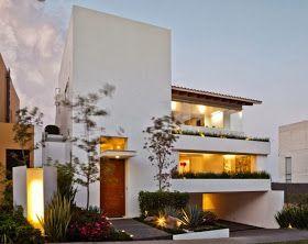 Casa Moderna de Tres Pisos por diseñodecasa.blogspot.com