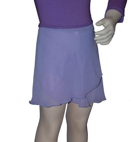 Ballet elastic waist wrap skirt  Plie's chiffon wrapover and elastic waist ballet skirt .  Price: 13.00€