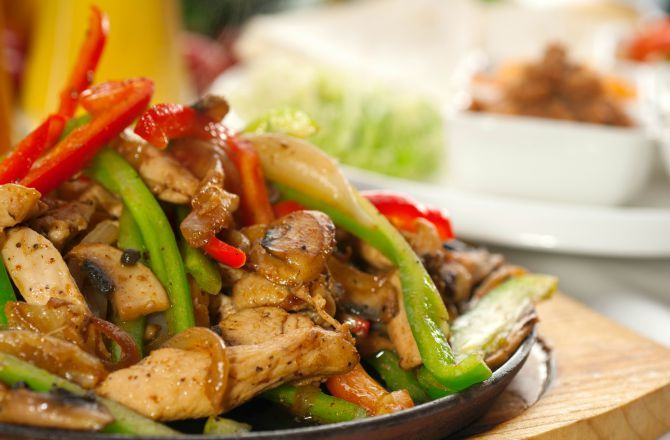 Grilled Chicken Fajita Recipe