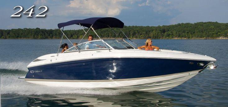 Cobalt Boats - 242 Bowrider #cobaltboatsluxury