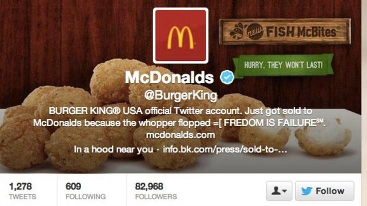 """Η παλιά έκφραση """"there is no such thing as bad publicity"""", εξακολουθεί να έχει ισχύ και στην εποχή των Social Media. Ο λογαριασμός των Burger King στο twitter """"έχασε"""" το απόρρητο του λογαριασμού του από τους hackers και """"κέρδισε"""" 5.000 followers μέσα στα πρώτα 30 λεπτά!    Δείτε όλο το γεγονός στο άρθρο του Mashable.  http://mashable.com/2013/02/18/burger-king-twitter-account-hacked/"""