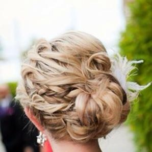 #hair #upDo #bride