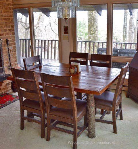 27 best rustic hickory furniture images on pinterest | log