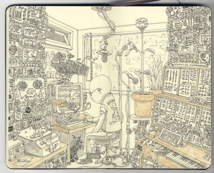 the Radiophonic Workshop by *MattiasA on deviantART