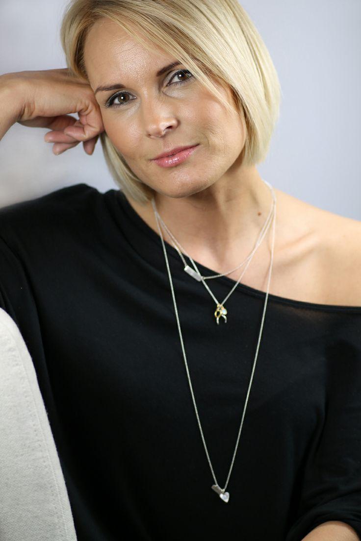 Myjouels model Marianne looking fab in b.u jewelry.