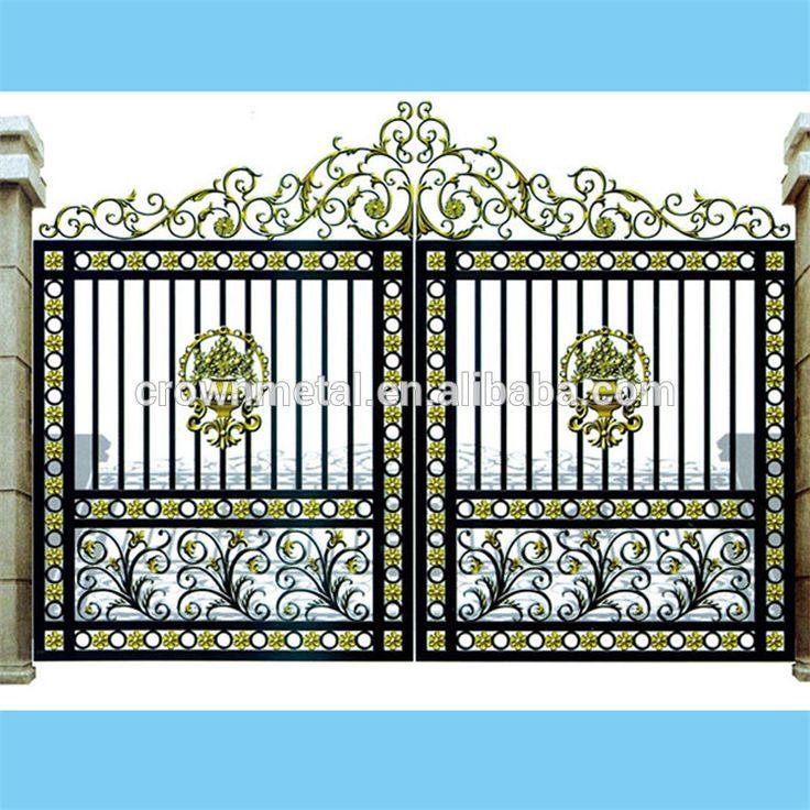 uu principal fbrica de puertas de hierro fundido jardn estilo de la puerta y la cerca de hierro forjado puerta de hierro forjado de lujo