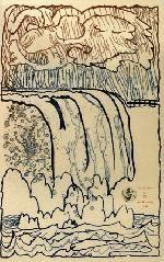 Alechinsky : Garde fou (1977) Aquatinte