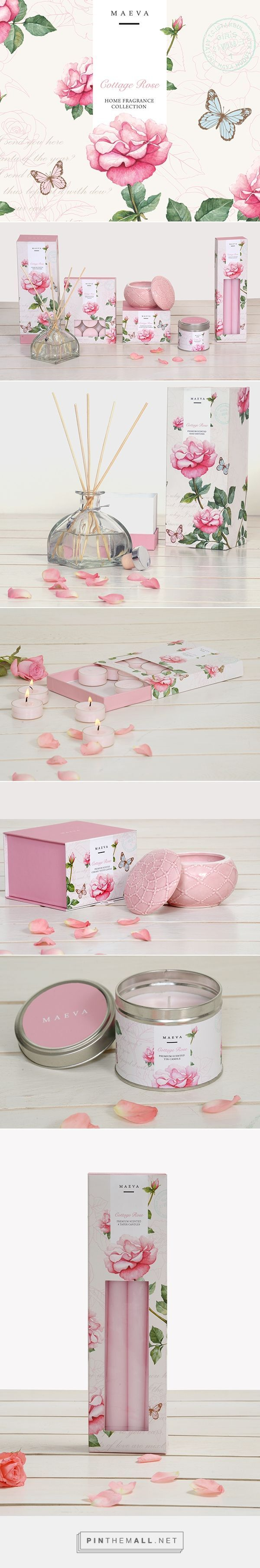 Cottage Rose Home Fragrance Branding and Packaging by Ram Kumar