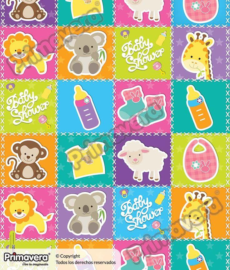 Papel regalo Bebé 1-483-921 http://envoltura.papelesprimavera.com/product/papel-regalo-bebe-1-483-921/