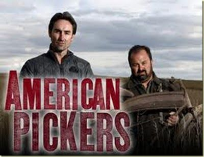 American Pickers ... love this show with Mike, Frank, and Danielle ... need to invite them to my garage LOL!!