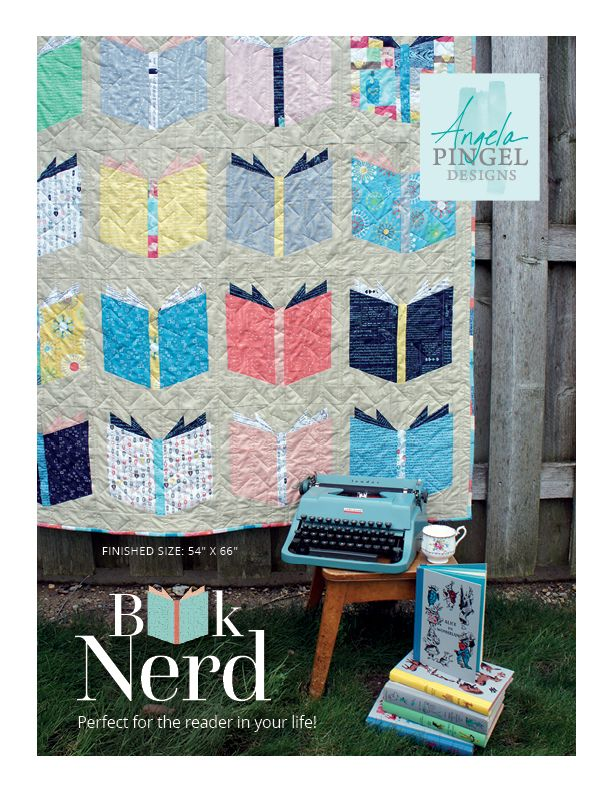 Book Nerd Quilt Available! | Cut to Pieces | Bloglovin'