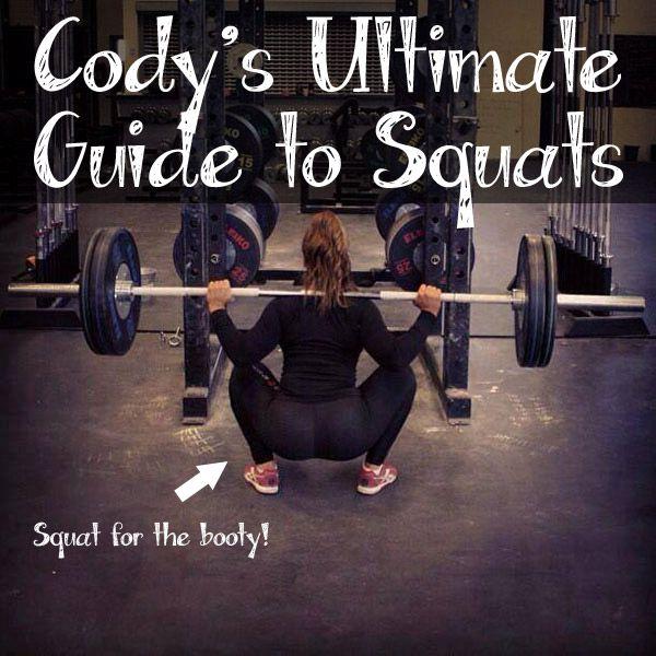 Air squats, back squat, front squats,... all the squats!!!