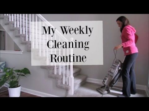 My Weekly Cleaning Routine   Clean with Me Vlog Style   House Cleaning M...