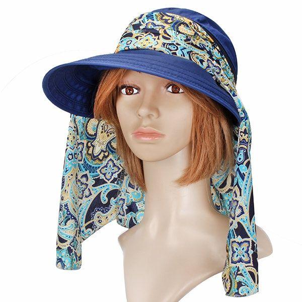 Summer Outdoor Sun Protective Gardening Hat Sun Hat Anti Uv Wide