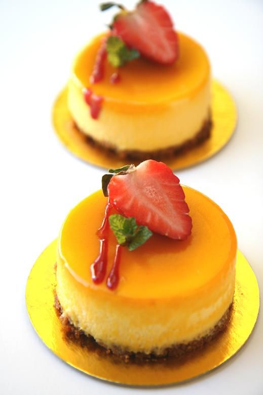 Amazing Recipe for a Mango Cheesecake which tasted wonderful and fresh with a fresh raspberry sauce on the top.