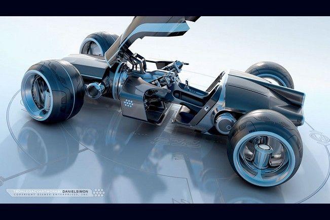 Lotus C-01 superbike   Light Runner, motocicleta do filme Tron Legacy