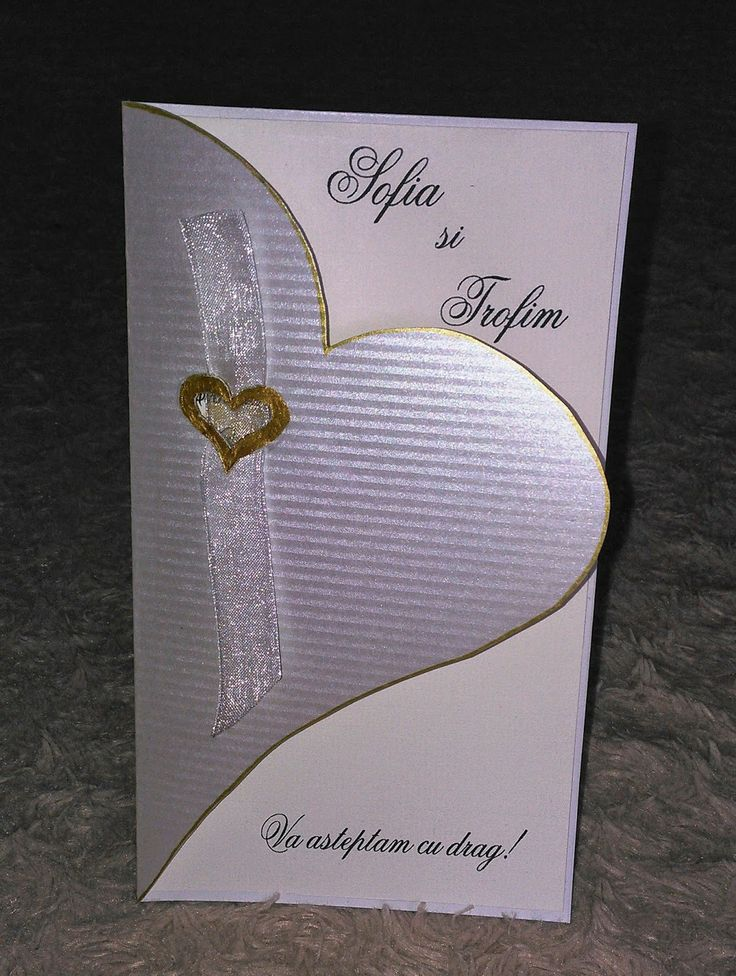 Invitații pentru nuntă