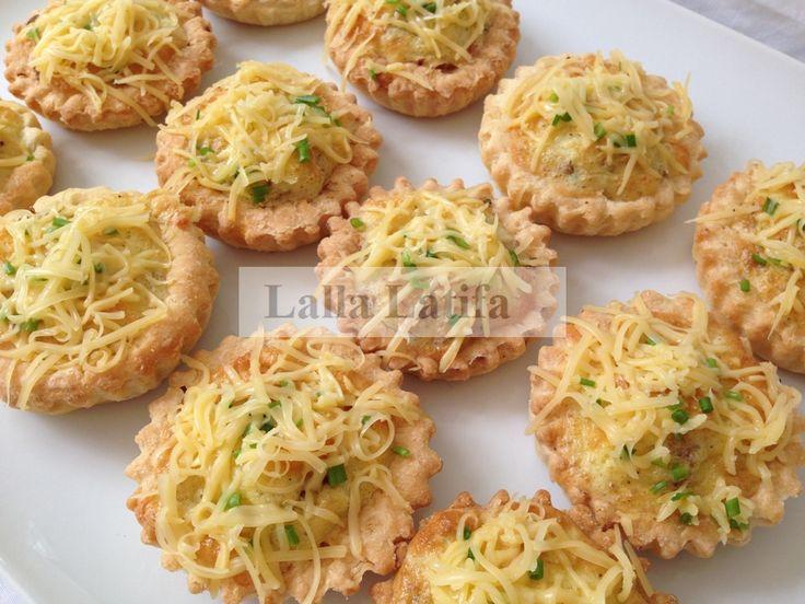Les secrets de cuisine par Lalla Latifa - Quiches à la viande hachée de bœuf