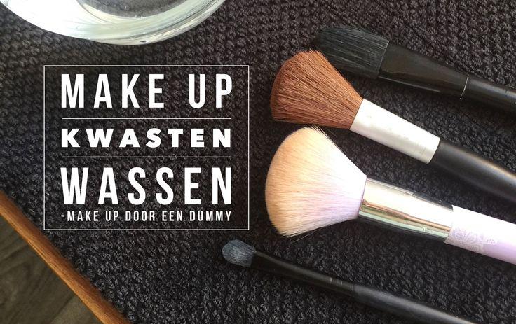 Make up door een dummy. Ik daag mezelf uit om meer over make up te komen weten en hoe ik het moet gebruiken. Vandaag heb ik het over kwasten wassen. #blogfeestje http://savethemama.nl
