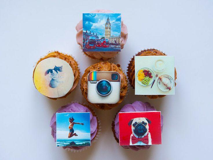 "Капкейки ""Инстаграм"" (""Instagram"" cupcakes) - Выпечка на заказ"