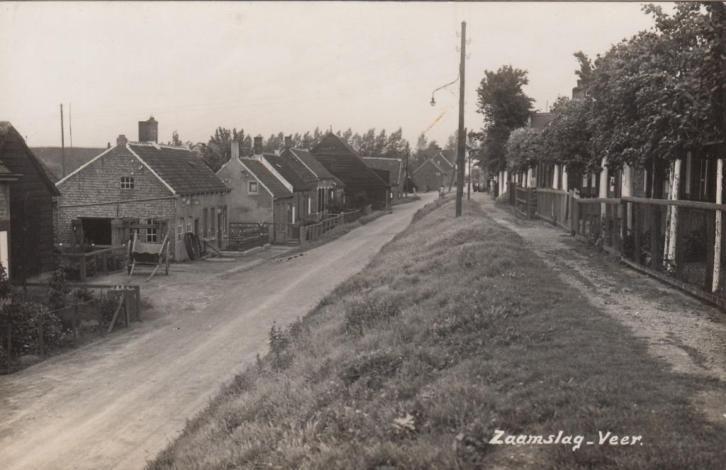 Zaamslag - Veer.   1920-1940