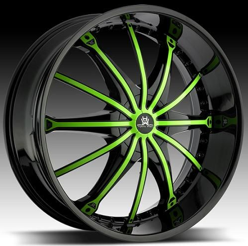 green car rims | Net: custom wheels,chrome wheels,alloy wheels,car wheels,truck wheels ...