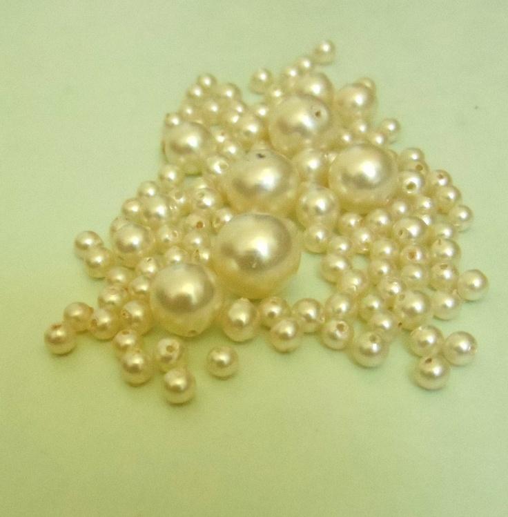 100 ct Faux Pearls by Jazminian9.deviantart.com on @deviantART