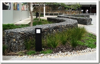 Gabion wall design