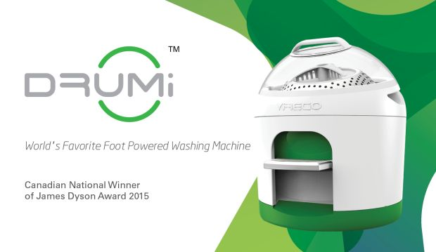 The Drumi is a foot-powered washing machine that uses minimal amounts of water and no electricity. | Crowdfunding is a democratic way to support the fundraising needs of your community. Make a contribution today!