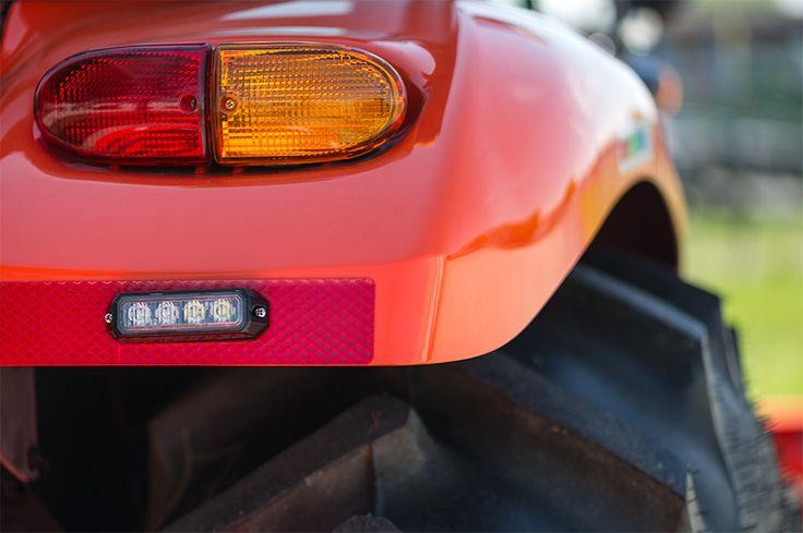 12 Watt Vehicle Mini Strobe Two-Color Light Head | LED Strobe Light Fixtures | Emergency Vehicle & Strobe LED Lights | Super Bright LEDs