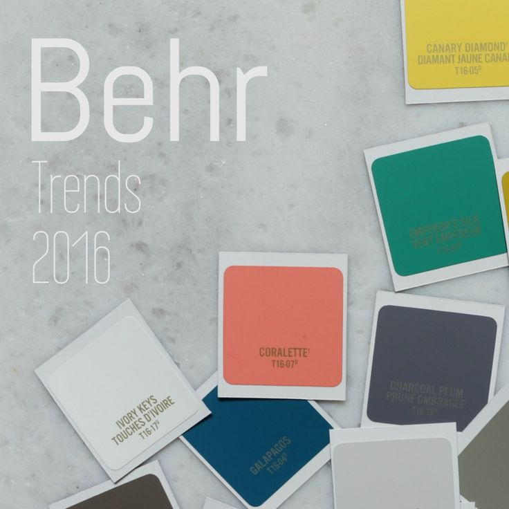 Interior makeover featuring Behr trends 2016
