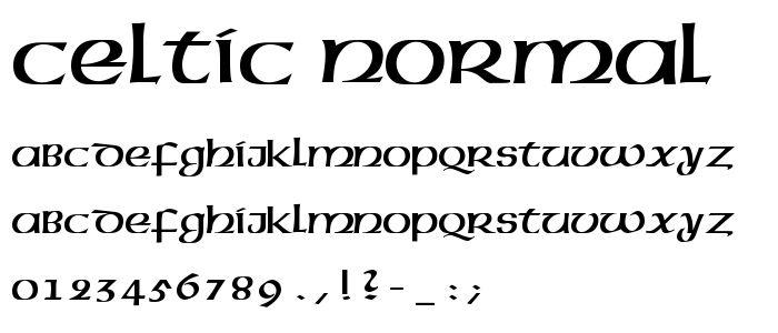 Tattoo Gaelic Font Creater: Irish Gaelic Font Free Download
