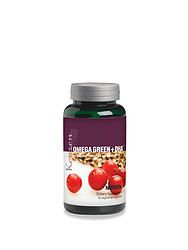 Kenzen® Omega Green + DHA™: Omega fatty acids support healthy heart, brain, nerve and eye function.* Instead of fish oils, the source material for Kenzen® Omega Green + DHA™ is cranberry seed oil, flax seed oil & red algae. #nikken #kenzen #omega  Shop this and more nutrition & supplements at www.pastichewellness.com