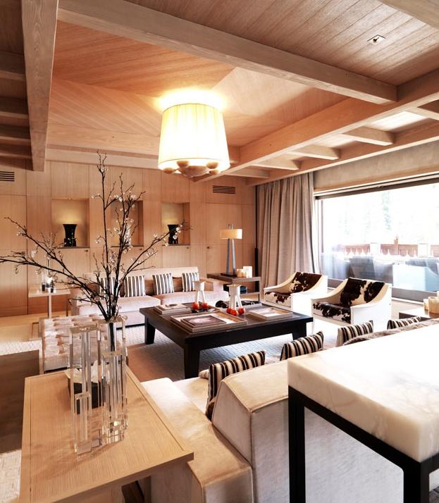 Cheval Blanc Courchevel    Designer: Sybille de Margerie