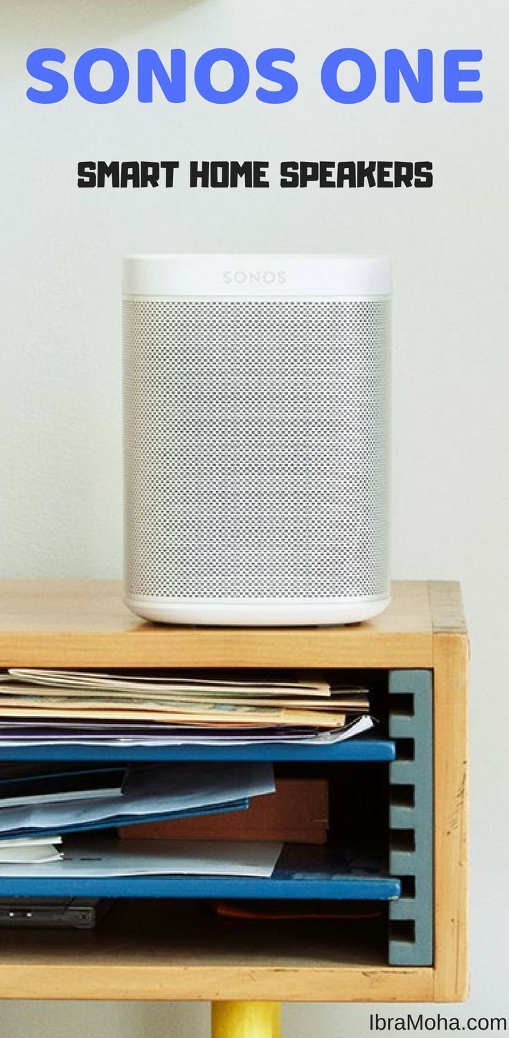 sonos one review smart home speaker home ideas pinterest