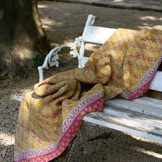 Vintage kantha throw that you just want to wrap youself up in.