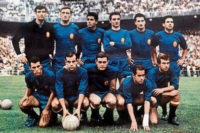 SELECCIÓN ESPAÑOLA CAMPEONA DE EUROPA - 1964