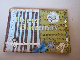 Kaatjes Creaties: januari 2014  verjaardagskaart