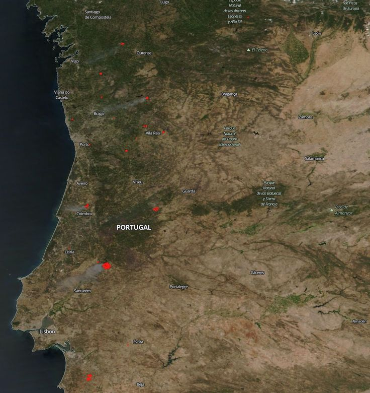 Kentucky Earthquake Map%0A Temperatures Soar in Portugal and New Fires Break Out