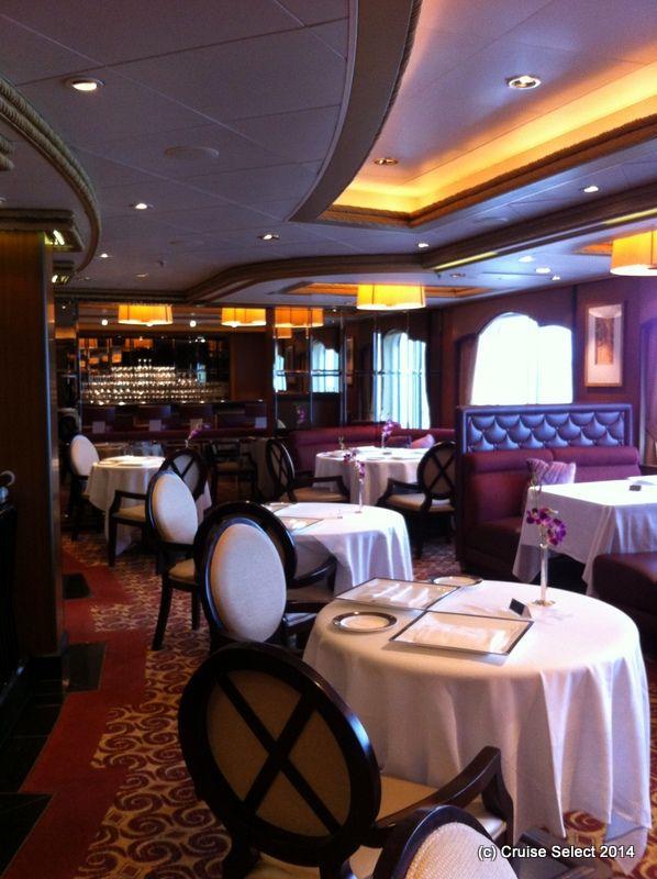 Cunard - The Veranda - Aboard Queen Victoria