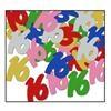 16 Confetti multi-colour