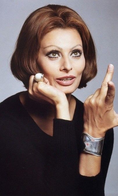 Sofia Loren!