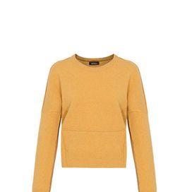 Pull aderente giallo ocra | Donna Moderna