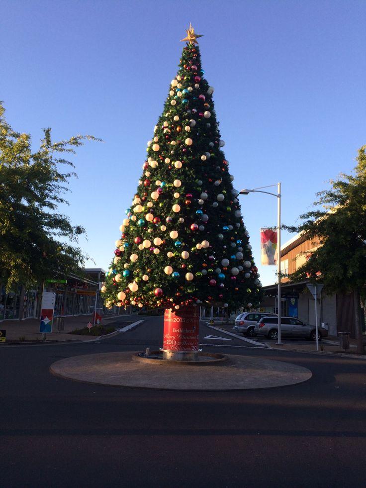 Bethlehem Town Centre Christmas Tree 2013