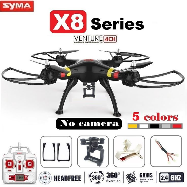 check price syma x8 x8c x8w fpv rc drone quadcopter without camera professional dron with holder for #rc #motor